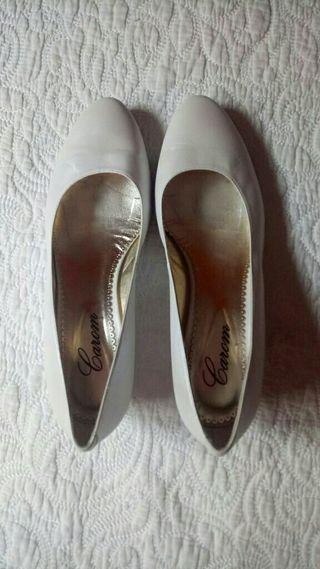 zapatos de novia en perfecto estado talla 40