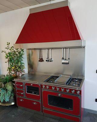 Combinaciones cocinas leña+gas+campana
