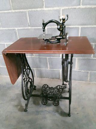 antigua máquina de coser siglo XIX Willcox Gibbs