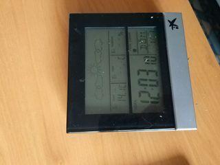 reloj estación meteorológica