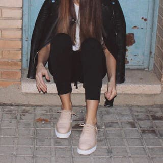 Zapatos tipo blucher Zara