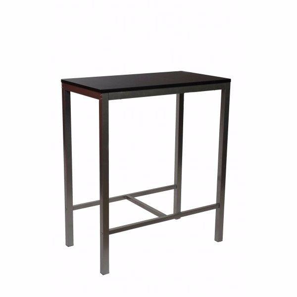 Conjunto de mesas altas y taburetes hosteleria de segunda mano por ...