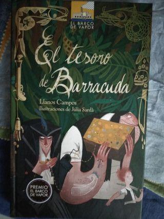 Libro el tesoro de Barracuda