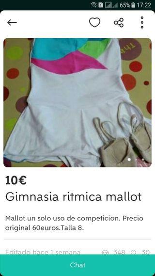 vestido gimnasia rítmica