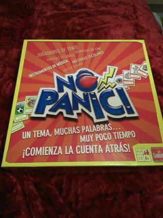 juego de mesa No panic
