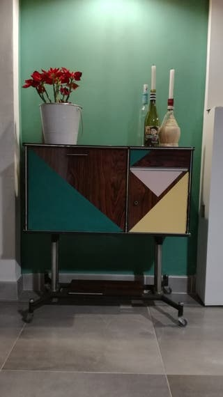 mueble auxiliar retro
