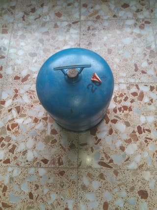 se vende botella butano campingas azul