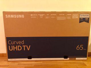 Tv Samsung 4K Curvo de 65