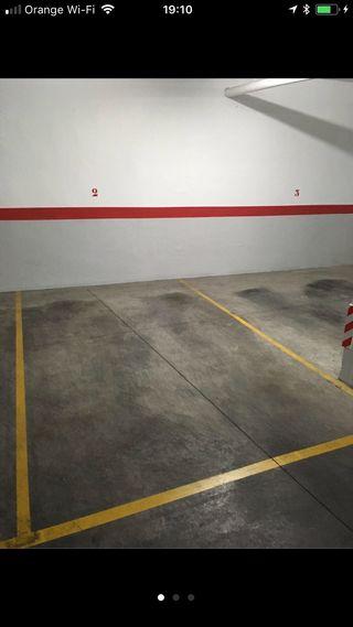 Alquiler de garaje