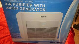 purificador de aire y generador de ozono