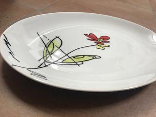 Vajilla porcelana 20 piezas