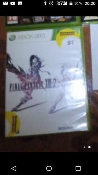 final fantasy XIII -2 para xbox360