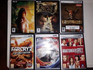 videojuegos pc