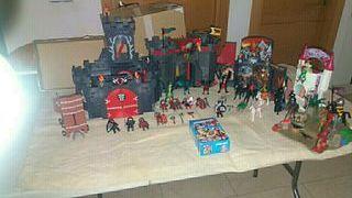 vendo escenario de batalla medieval de playmovil