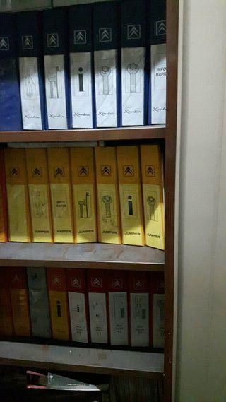 Manuales antiguos citroen