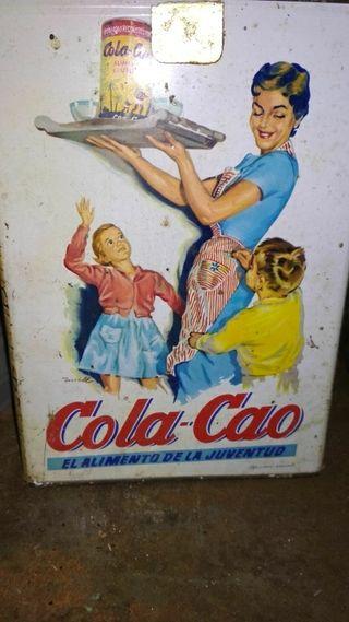 Cajas cola cao y fontaneda vintage