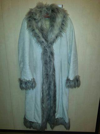 abrigo piel mujer