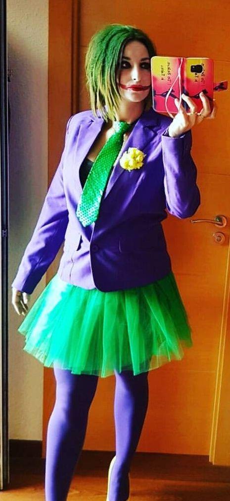 Disfraz joker chica de segunda mano por 30 en l - Disfraz joker casero ...