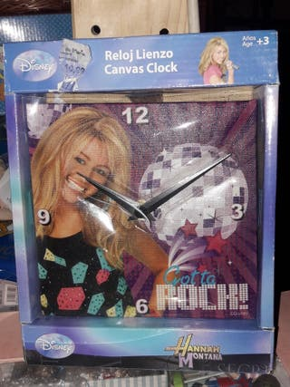 Reloj Hannah Montana