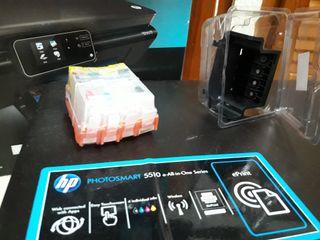 IMPRESORA MULTIFUNCION HP PHOTOSMART 5510