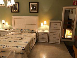 Dormitorio de melamina