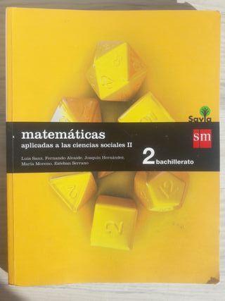 Matematicas 2°Bach Sm