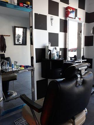 Peluquería barbería paseo de la estación mostoles