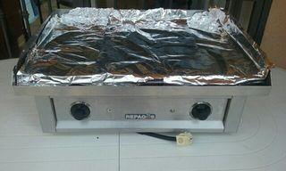 Plancha de cocina profesional