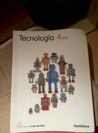 libro tecnologia 4 ESO Santillana