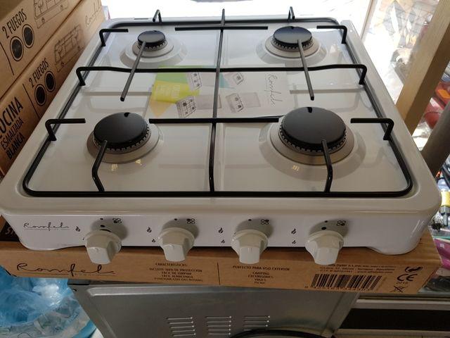 Cocina sobremesa gas butano de segunda mano por 52 € en Madrid en ...