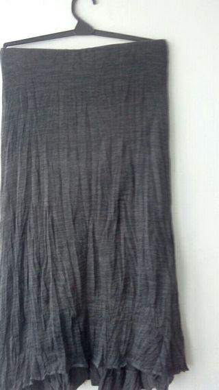 Falda de punto talla S