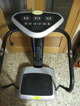 Maquina vibradora ejercicio