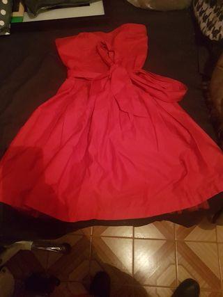 vestido corto de fiesta