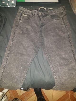 pantalon tejano bershka