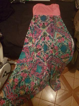vestido largo de mujer