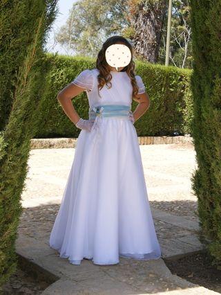 traje de comunion para niña
