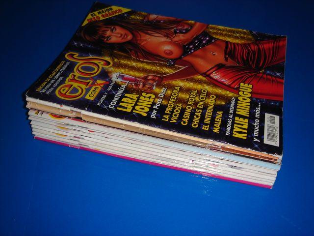 Lote 12 Comics eroticos EROS buen estado