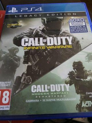 Call of duty infinite warfare/modern warfare
