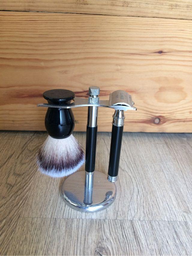 Brocha y navaja Afeitado