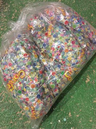 Confeti 12 bolsas