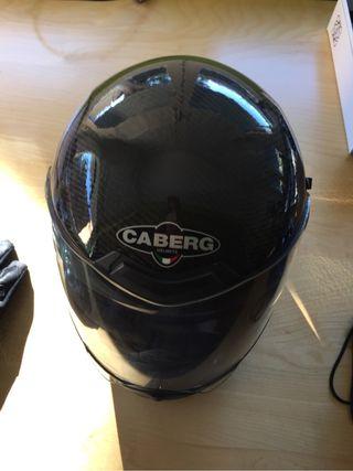 Casco moto caberg carbono