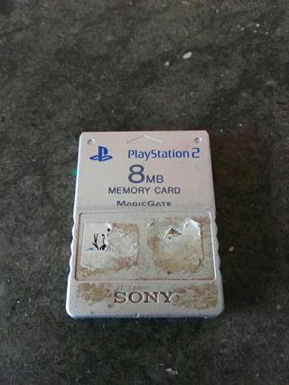 memoria de PlayStation 2