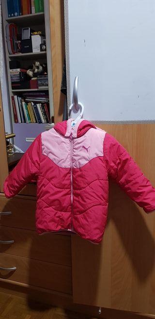 abrigo puma niña