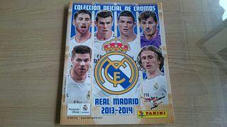 Album cromos Real Madrid 2013-2014