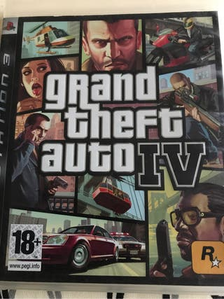 Juego ps3 grand theft auto IV