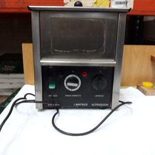 Lavadora ultrasonidos de joyeria