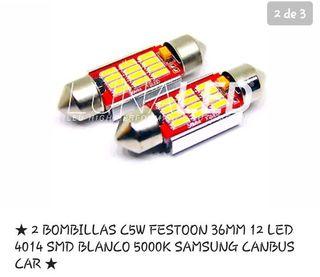 LED CANBUS C5 FEESTON 36MM