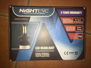 H7 NIGHTEYE LED HEADLIGHT 72W 9000LM 6000K