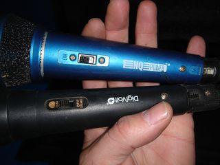 MICRO microfono maletin con dos micros