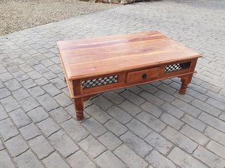 Mesa centro madera maciza